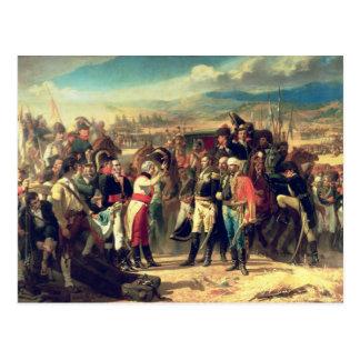 La entrega de Bailen, el 23 de julio de 1808 Postal