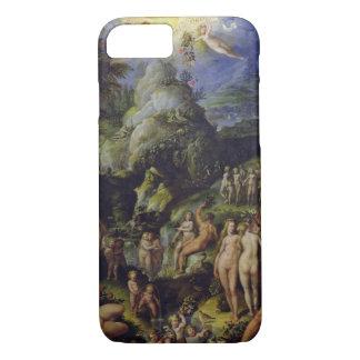 La época dorada, c.1570 (aceite en el panel) funda iPhone 7