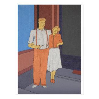La época dorada de la dicha postal