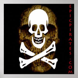 La epopeya piratea la bandera #12 póster