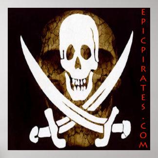 La epopeya piratea la bandera #5 póster