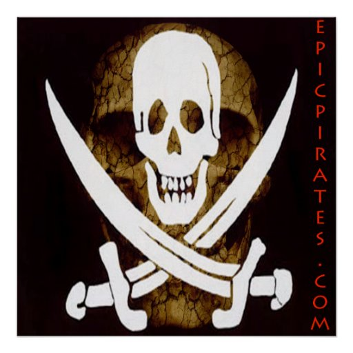 La epopeya piratea la bandera #5 poster