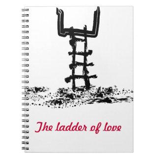 La escalera del amor libro de apuntes