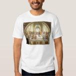 La escuela del fresco de Atenas de Raffaello Sanzi Camisetas