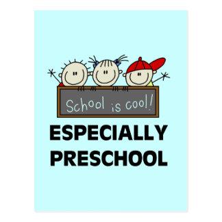 La escuela preescolar es camisetas y regalos postal