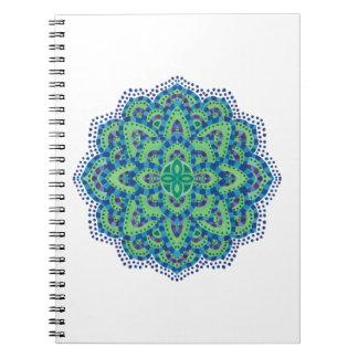 La esmeralda Mandala-Fresca Libro De Apuntes