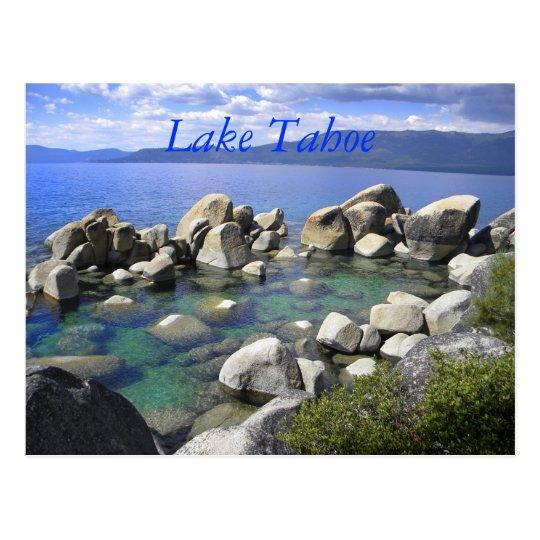 La esmeralda riega la postal del lago Tahoe
