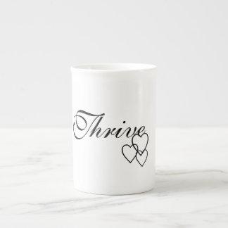 La especialidad prospera taza de café con los