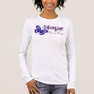 La esperanza de Alzheimer de una curación Camiseta De Manga Larga