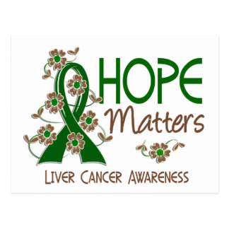 La esperanza importa cáncer de hígado 3 postal