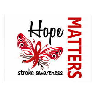 La esperanza importa movimiento de mariposa postales