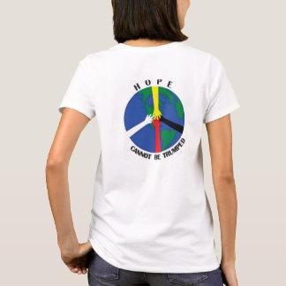 La esperanza no se puede Trumped - camiseta