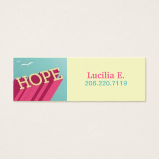La esperanza se eleva las tarjetas del