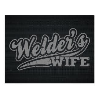La esposa del soldador postal
