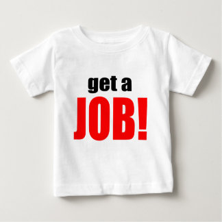 La ESPOSA QUE CULPA trabajo que va del trabajo Camiseta De Bebé