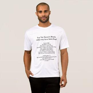 La esposa y AprilTheGiraffe de Brad Camiseta