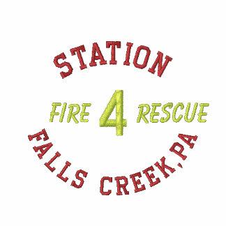 La estación 4 cae la cala PA fuego Rescate-Ca