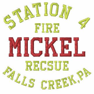La estación 4 Mickel cae la cala PA fuego Rec Sudaderas Embordadas Personalizadas