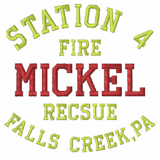 La estación 4, Mickel, cae la cala, PA, fuego, Sudadera Embordada