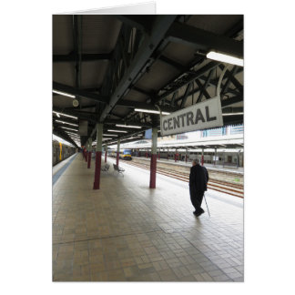 La estación central de Sydney Tarjeta De Felicitación