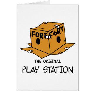 La estación original del juego tarjeta