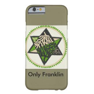 La estrella arraiga la caja del teléfono funda barely there iPhone 6