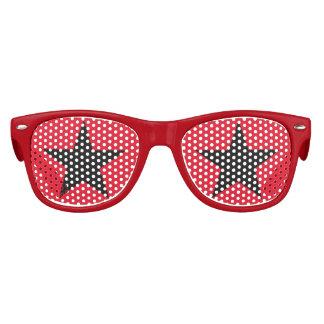 La estrella estupenda embroma las gafas de sol