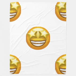 la estrella observa la manta del emoji