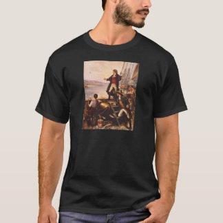 La estrella Spangled la bandera de Percy Moran Camiseta
