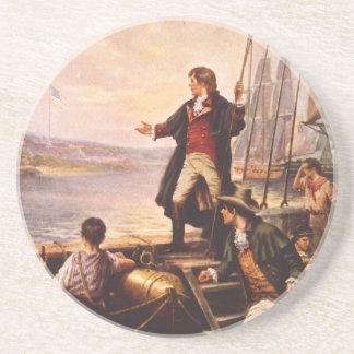La estrella Spangled la bandera de Percy Moran Portavasos