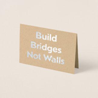 La estructura tiende un puente sobre no la tarjeta