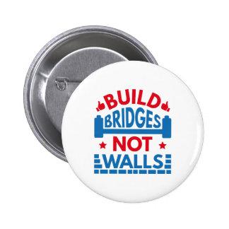 La estructura tiende un puente sobre no las chapa redonda de 5 cm