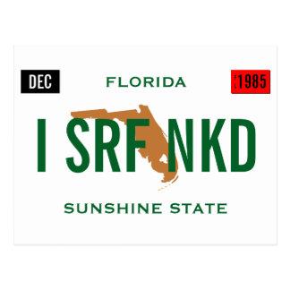 La etiqueta de la Florida personaliza Postal