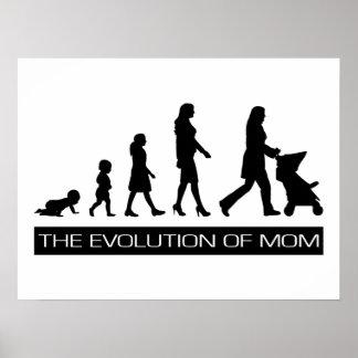 La evolución de la mamá poster