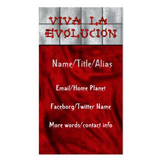 La Evolucion de Viva Tarjetas De Visita