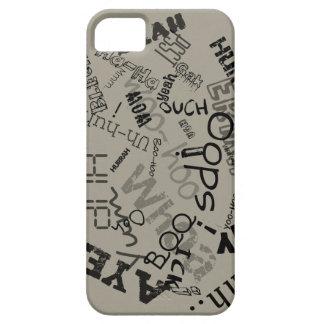 la exclamación redacta el caso del iPhone iPhone 5 Carcasas