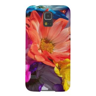 La explosión Samsung de la flor encajona Funda Galaxy S5