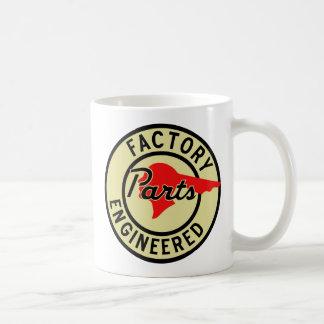 La fábrica de Pontiac del vintage parte la muestra Tazas De Café