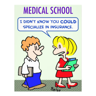 la Facultad de Medicina especializa seguro Folleto 21,6 X 28 Cm