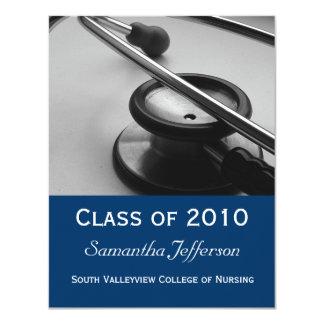 La Facultad de Medicina, graduación de cuidado de Invitación 10,8 X 13,9 Cm
