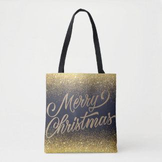 La falsa bolsa de asas elegante del navidad el |