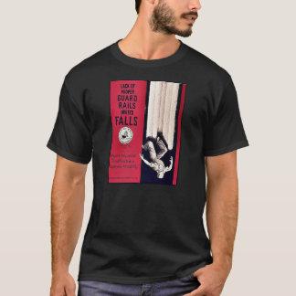 La falta de carriles de guardia apropiados invita camiseta