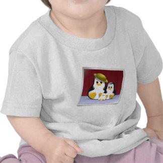 La familia de Tux Camisetas