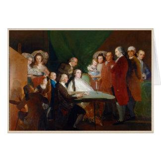 La familia del infante Don Luis Francisco Goya Tarjeta Pequeña