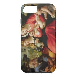 La familia santa, c.1508-12 (aceite en lona) funda iPhone 7