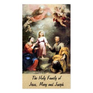 La familia santa de Jesús, de Maria y de José Tarjetas De Visita