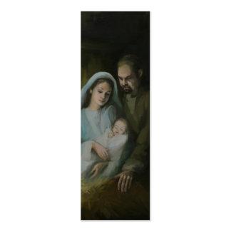 La familia santa tarjetas de visita mini