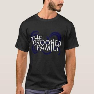 La familia torcida (negro) camiseta