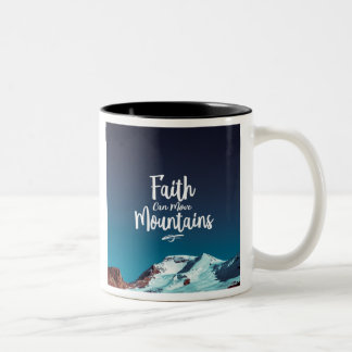 La fe puede mover la taza de café de las montañas