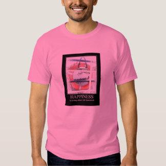 La felicidad está ahorrando otras (Dragonboat Camiseta
